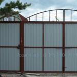 ворота в раме внутренняя сторона