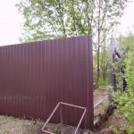Забор из прфнастила С8