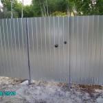 Купить забор из профлиста в тюмени