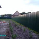 Забор из профнастила скидки в тюмени