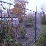 Забор из сетки-рабицы в тюмени