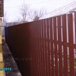 Забор из евроштакетника в тюмени купить
