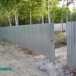 Забор из профнастила купить в тюмени дешево