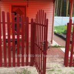 Забор из штакетника - калитка