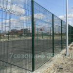 Ограждения спортивные и детские площадки